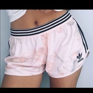 EUC adidas Originals Floral Shorts